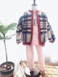 手作DIY—外套+秋衣裤套装