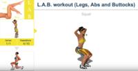 求監督:3月額外挑戰 L(腿)A(腹)B(臀)訓練L2