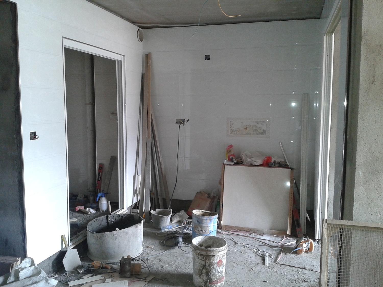 新房子装修,瓦匠工结束啦
