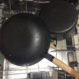 洗碗机洗的炒锅