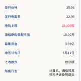 新股申购:帝科股份6月9日申购