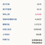 新股申购: 华业香料09月04号申购