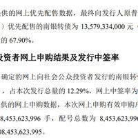 南银中签率才0.029%
