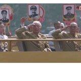 祖國70周年慶閱兵時抗戰老兵出場