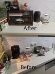 新收到的茶水柜