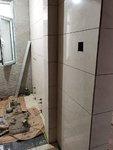 小满装修:卫生间铺墙砖