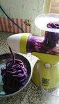 水晶紫薯卷