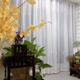 手作DIY——50块换了一阳台的纱帘
