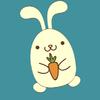 素顏的兔子