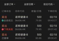 诺辉健康打新,赚了2.6万