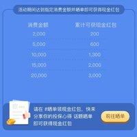 新年礼:投保晒单送3000现金红包