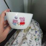翠cui的小羊毛:再購小豬佩奇碗1個