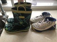 继续整理鞋柜书架,鞋子送洗,送朋友