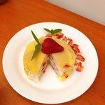 草莓山药蛋糕