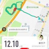 除夕,跑跑跑~12km