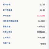新股申购: 丽人丽妆09月17号申购