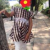 手作DIY——格子连衣裙