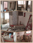 50㎡老破小变身记Step3:定制衣柜出图、地砖墙砖铺设完毕