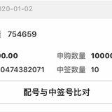 1月6号~打中的新债忘缴款了(哭)