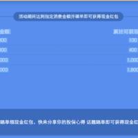 新春拜年礼:投保晒单送最高1800现金红包