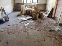 小满装修:卧室铺贴完毕,客厅、过门石再次吵架