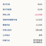新股申购:盛视科技5月14日申购