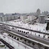 下雪时候拍的