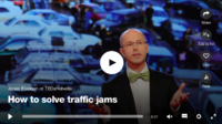 TED-033—— 怎样解决交通拥堵问题?